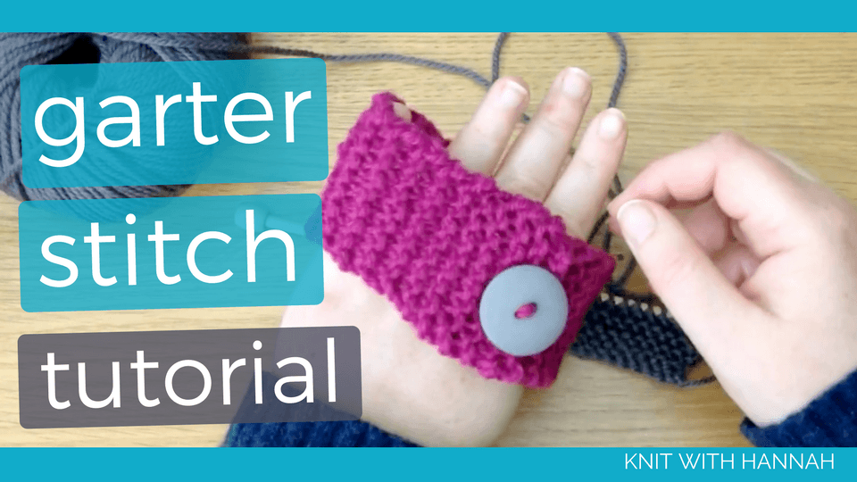 Are you a new knitter who's starting to find themselves confused by 'knitter's jargon'? And that's the thing with garter stitch. It's a fancy name for a very simple fabric. Take a look to find out more