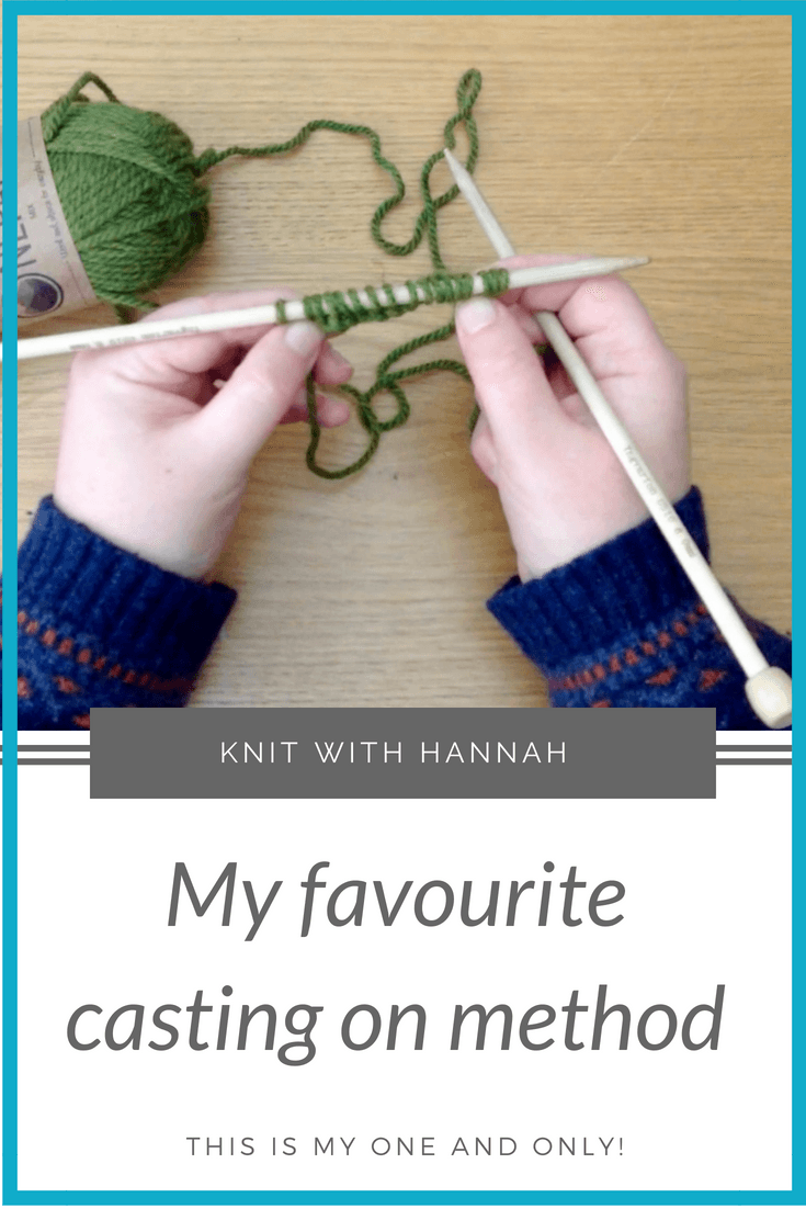 Learning to cast on is the first step to knitting, And I have a method of 'casting on' that I use 90% of the time- find out what it is!